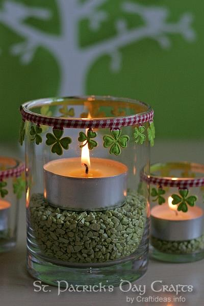 Tea Light Decorations for St. Patrick's Day 3